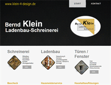 Tablet Preview of beklein-design.de